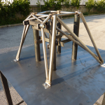 semi-finished product of a castle  engine for ultralight aircraft